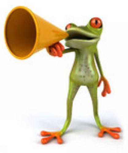 frog calling digiprint